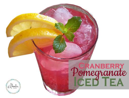 Cranberry Pomegranate Iced Tea Recipe 2