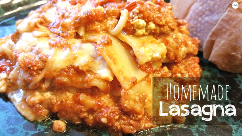 Homemade Lasagna Recipe 3