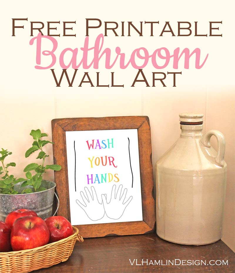 photo about Free Printable Bathroom Pictures referred to as Totally free Printable Lavatory Wall Artwork Archives - Foodstuff Lifetime Structure