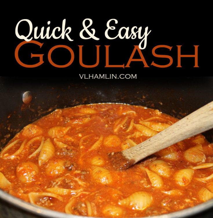 Quick and Easy Goulash Recipe