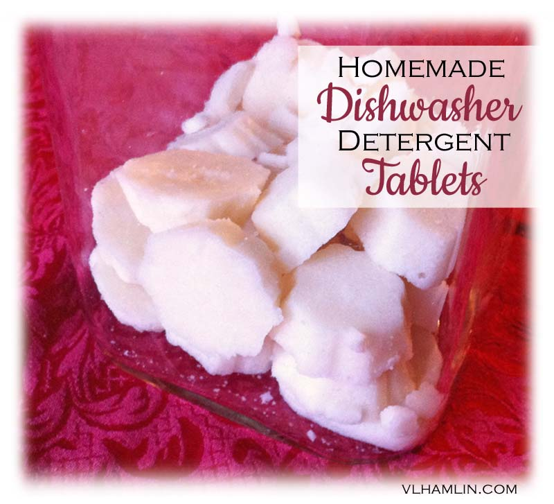 homemade dishwasher detergent tablets 2