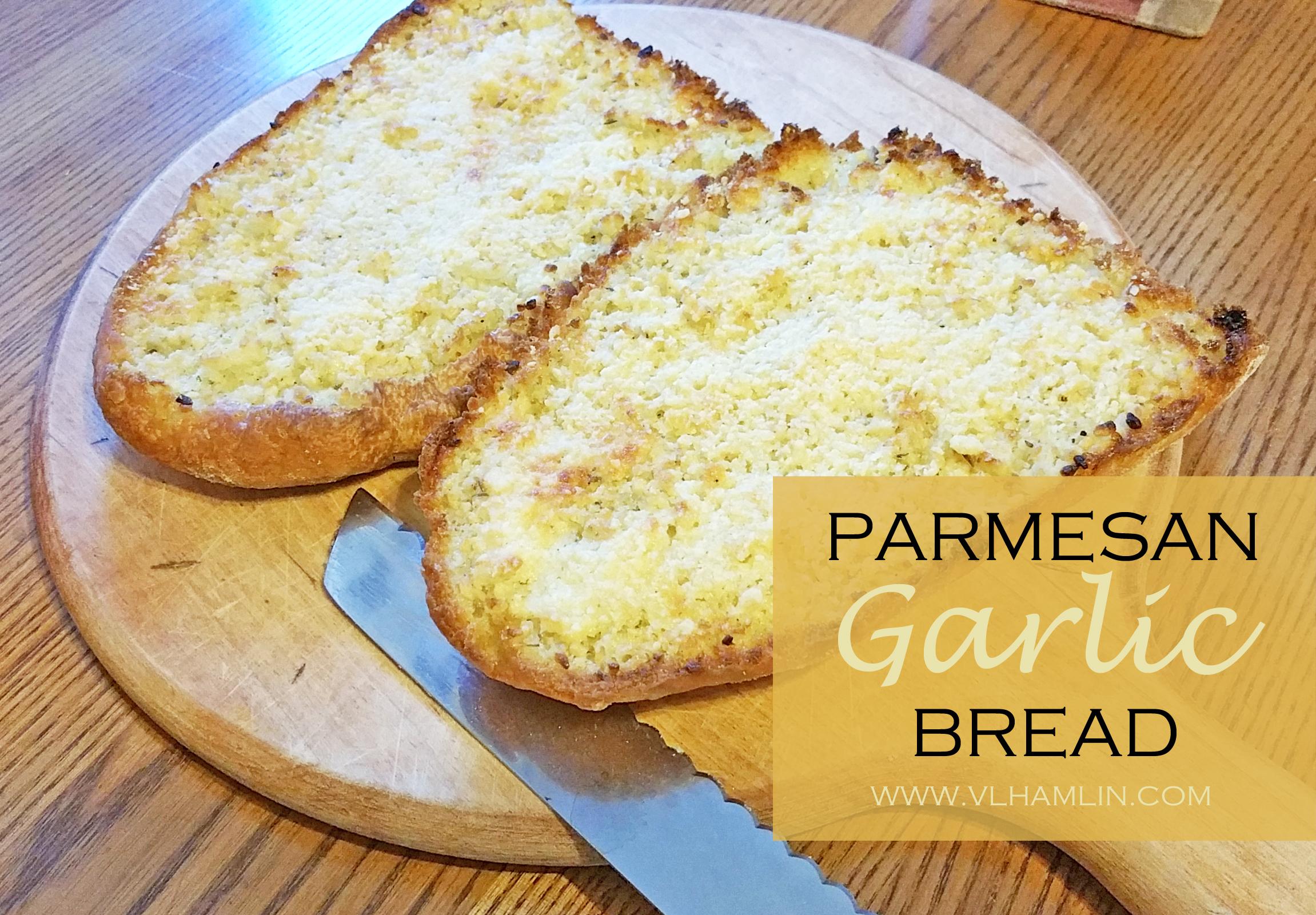 Parmesan Garlic Bread Recipe