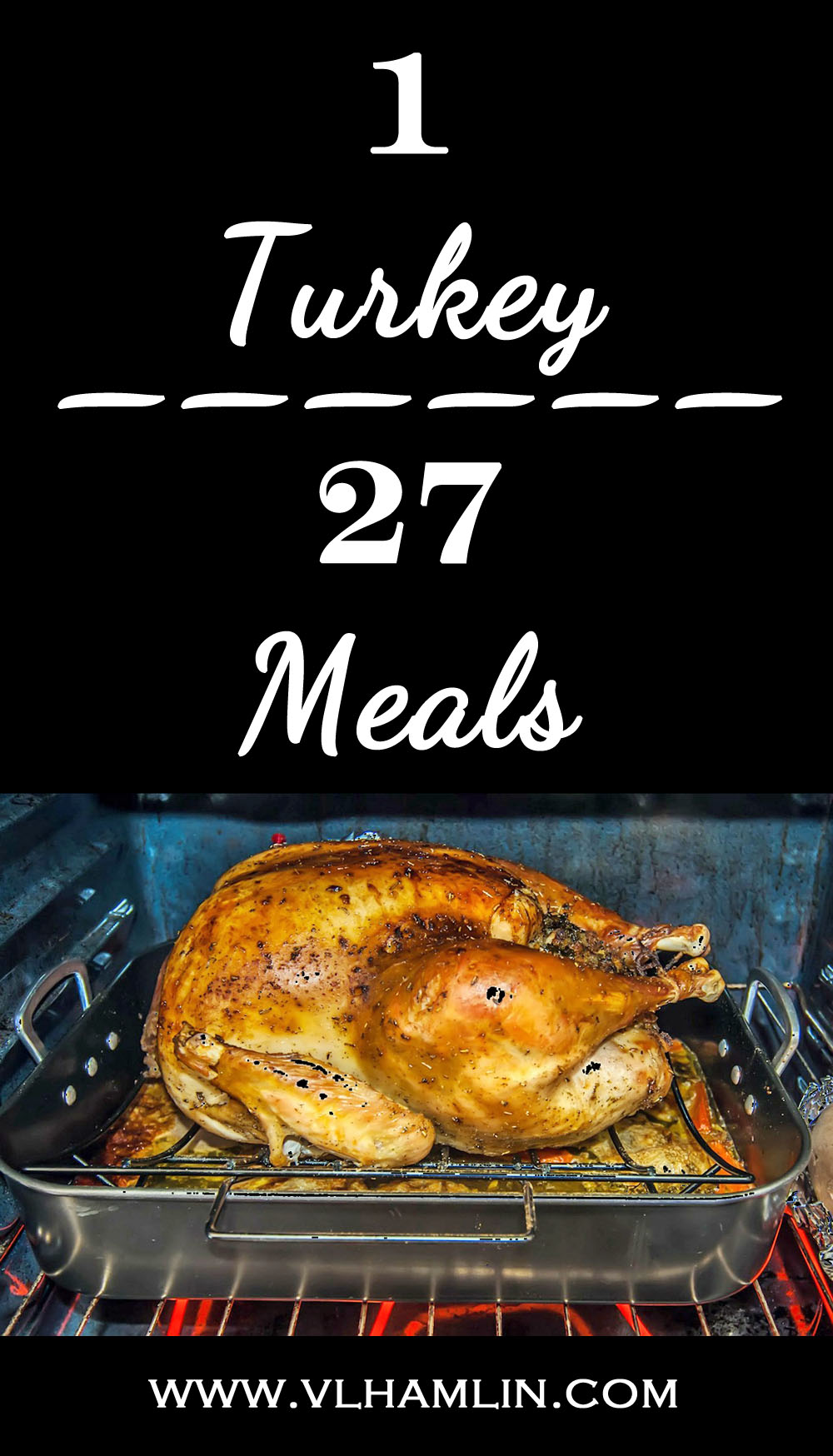 1 Turkey Breast = 27 Meals