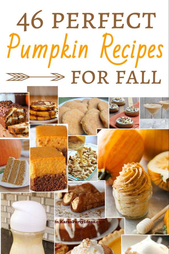 46 Pumpkin Recipes for Fall - Food Life Design