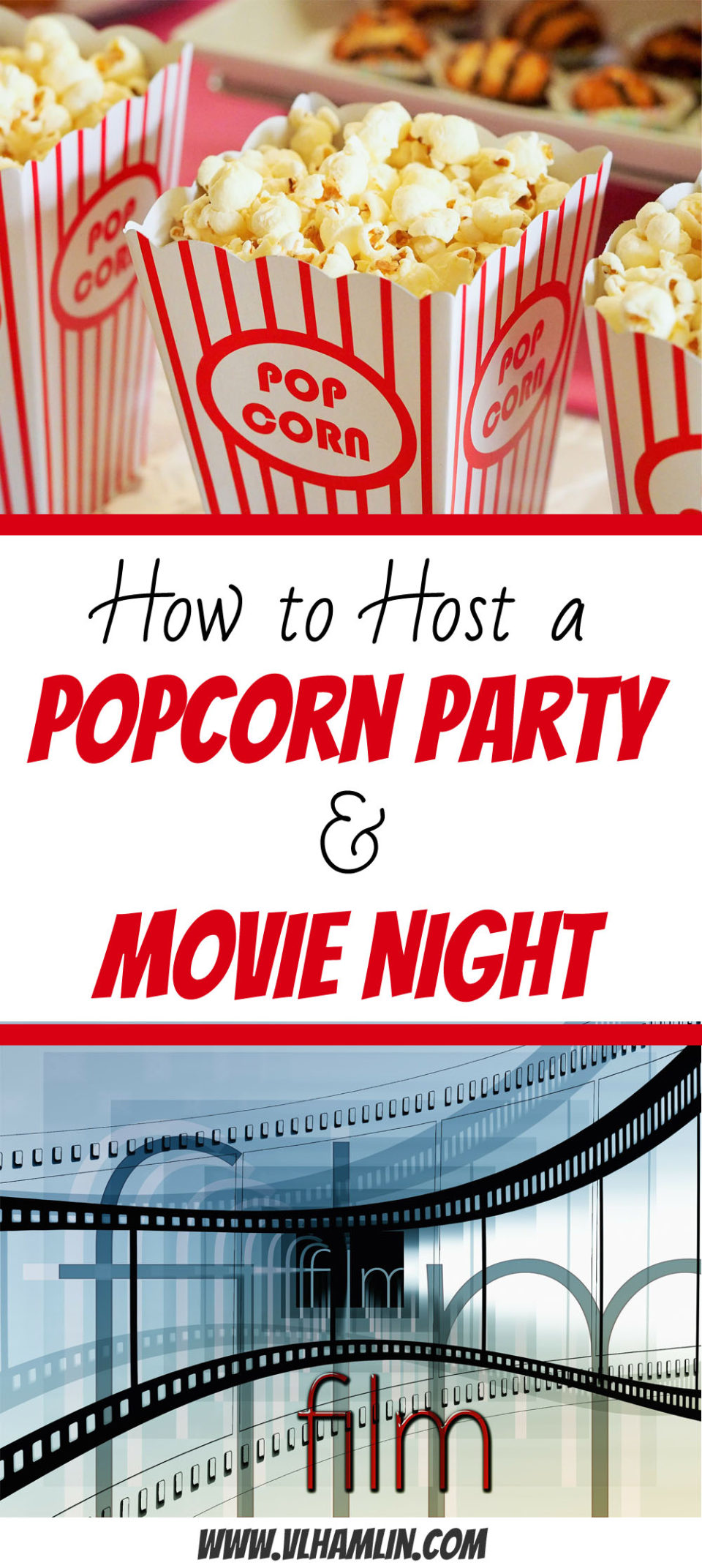 How to Host a Popcorn Party and Movie Night