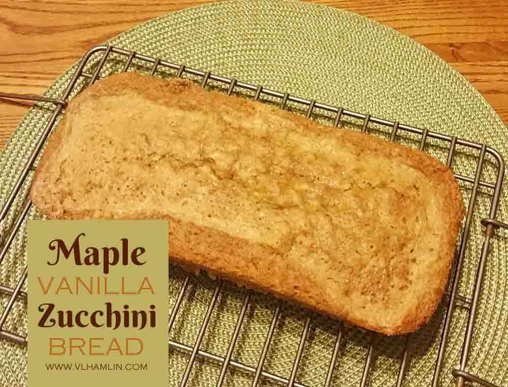 Maple Vanilla Zucchini Bread 3