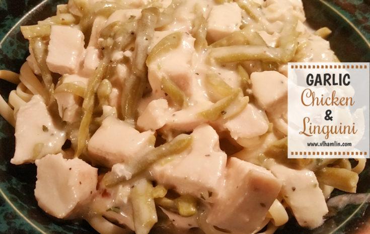 Garlic Chicken and Linguini