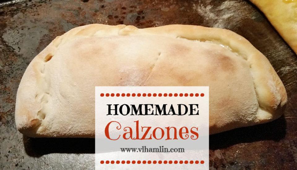 Homemade Calzones