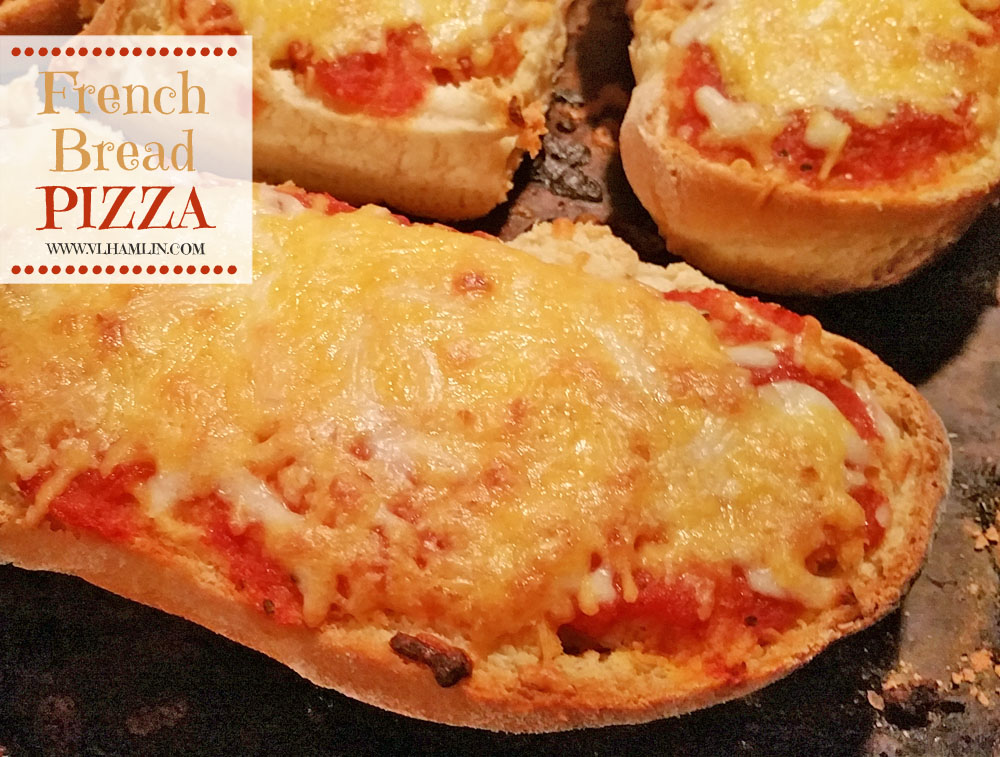 Homemade French Bread Pizza 4