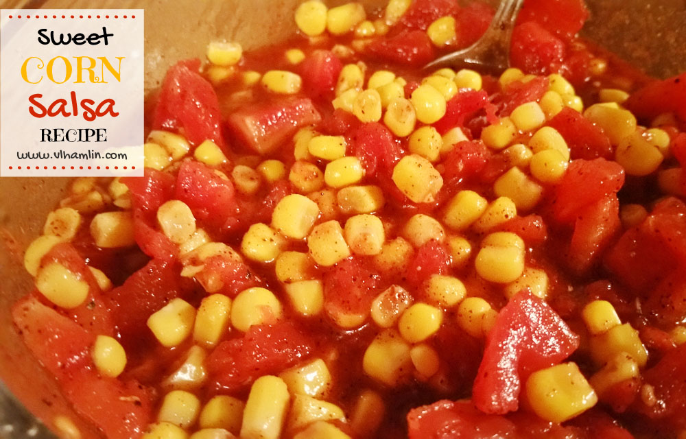 Sweet Corn Salsa Recipe 2