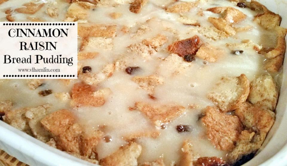 Cinnamon Raisin Bread Pudding