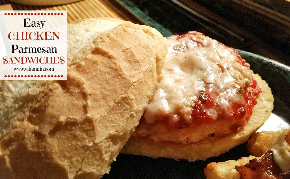 Easy Chicken Parmesan Sandwiches 3