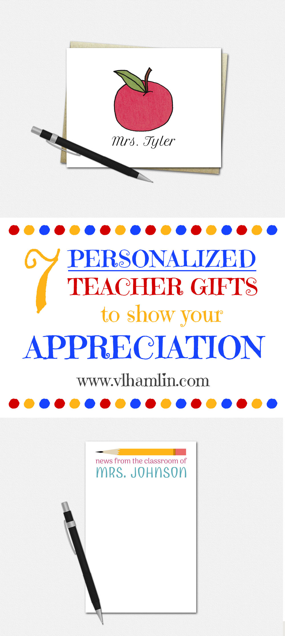 7 Personalized Teacher Gifts to Show Your Appreciation - LEAD