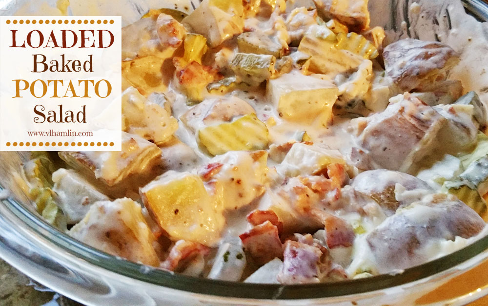 Loaded Baked Potato Salad 1