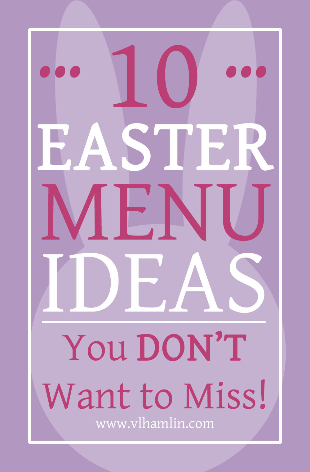 10 EASTER MENU IDEAS YOU DONT WANT TO MISS