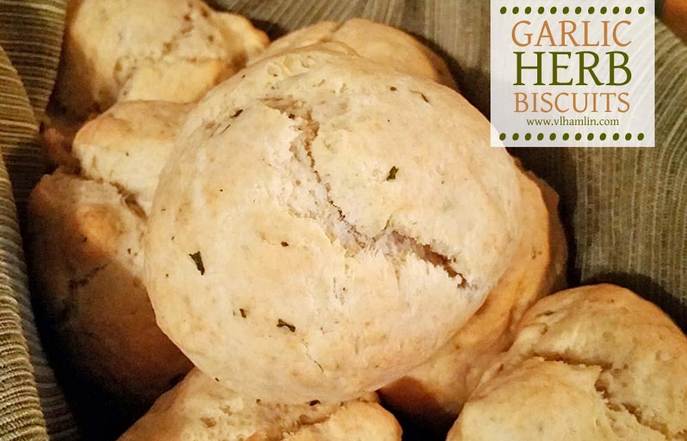 Garlic Herb Biscuits