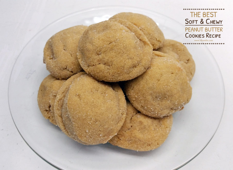 Soft and Chewy Peanut Butter Cookies Recipe 2