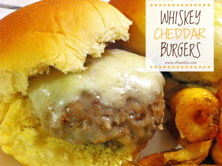 Whiskey Cheddar Hamburgers