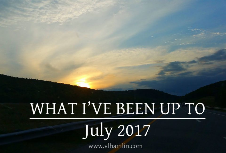 WHAT IVE BEEN UP TO JULY 2017