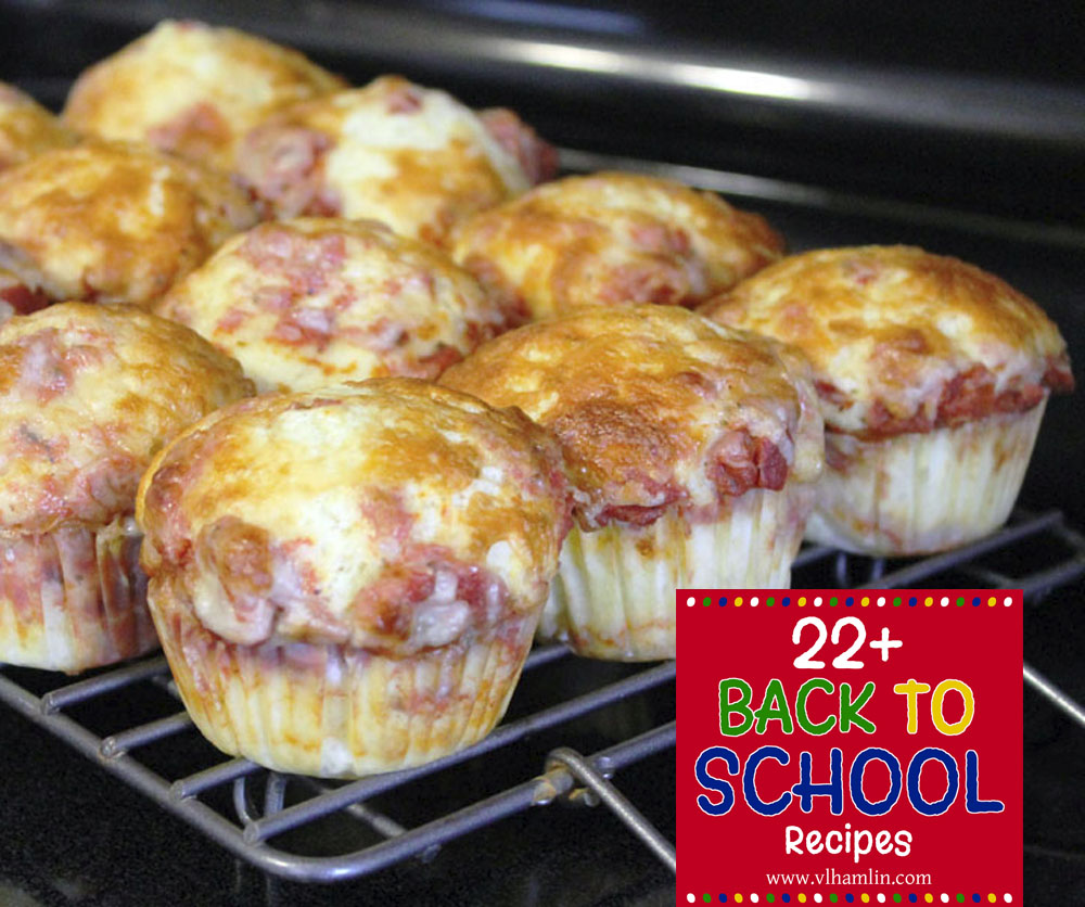 22 Back to School Recipes 2
