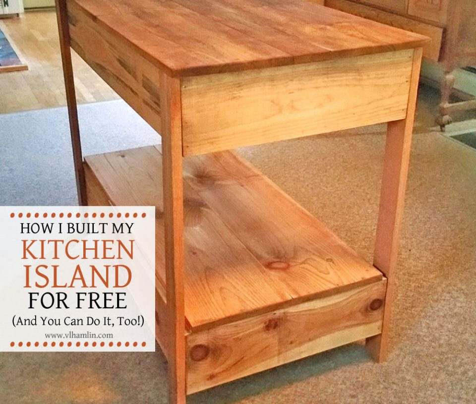 DIY Kitchen Island 1