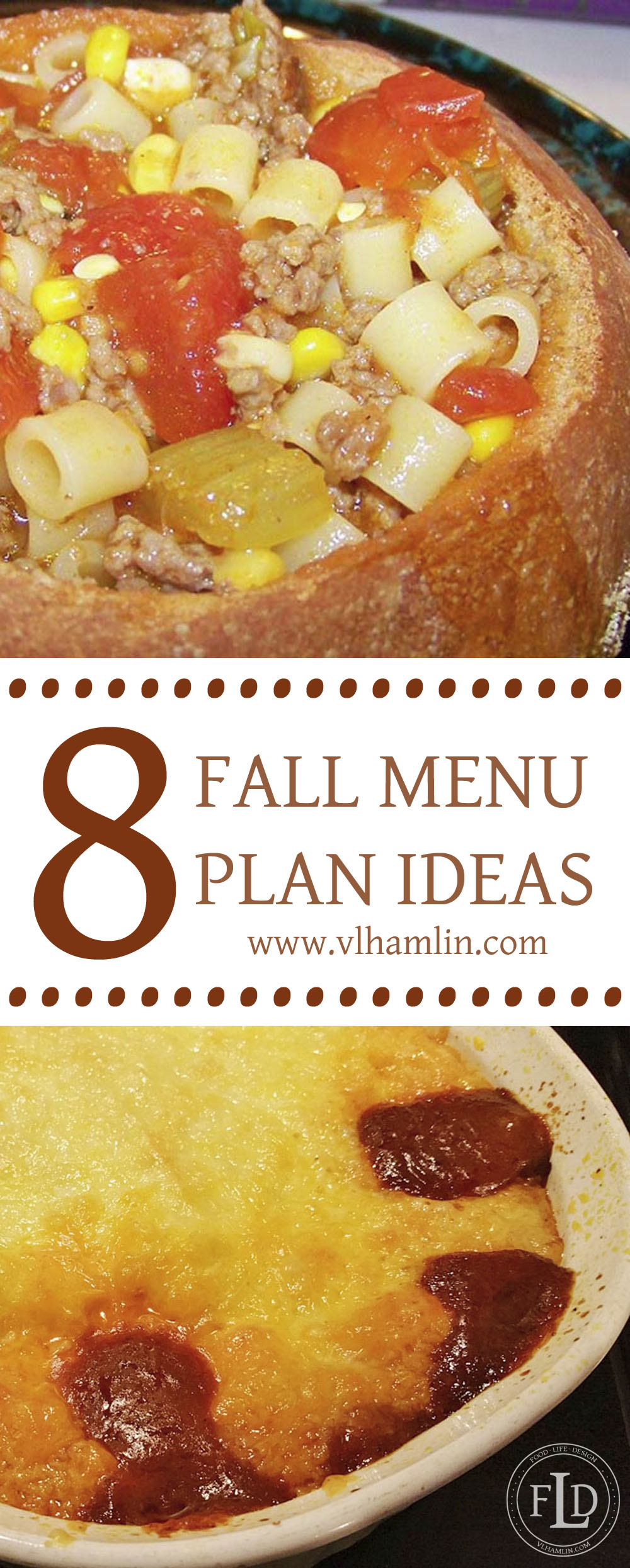 8 Fall Menu Plan Ideas