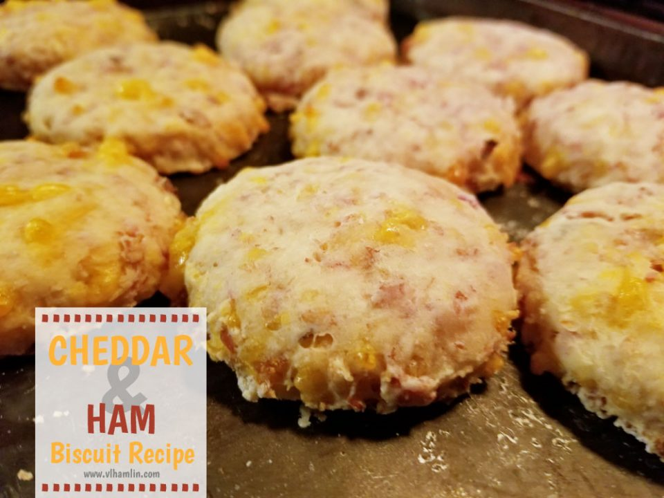 Cheddar and Ham Biscuit Recipe