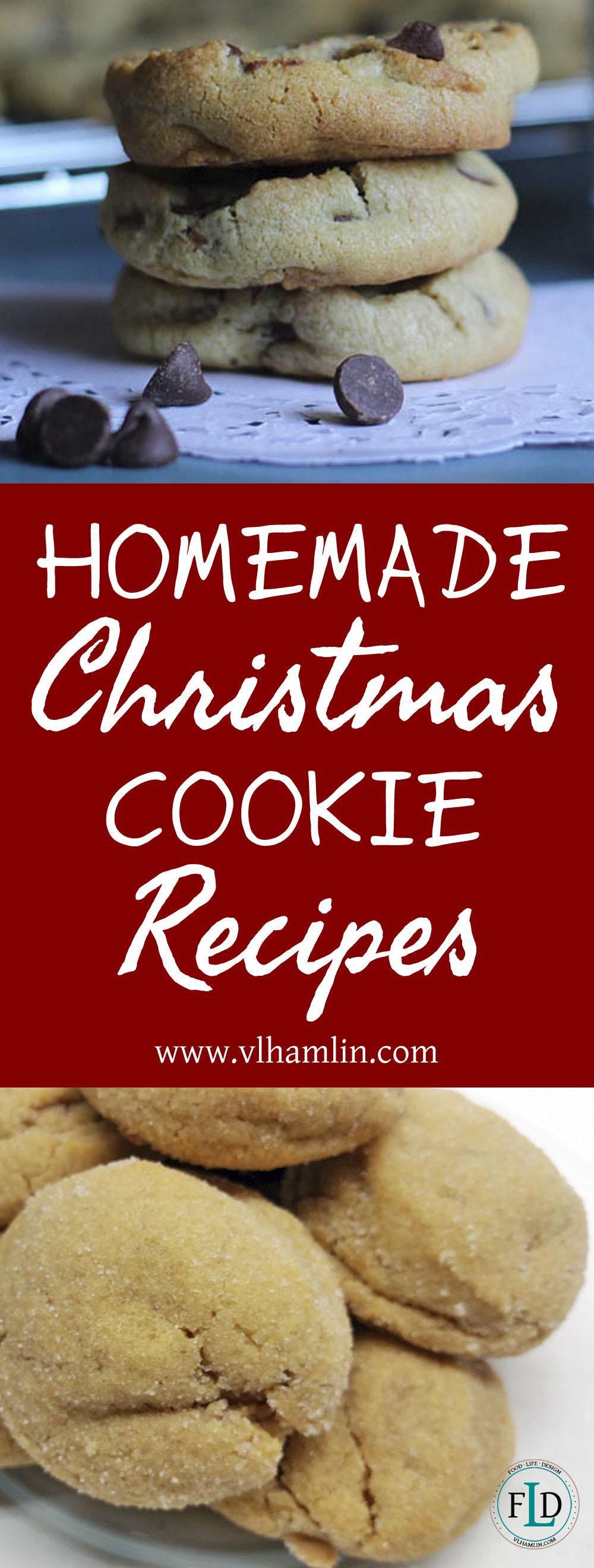 Homemade Christmas Cookie Recipes