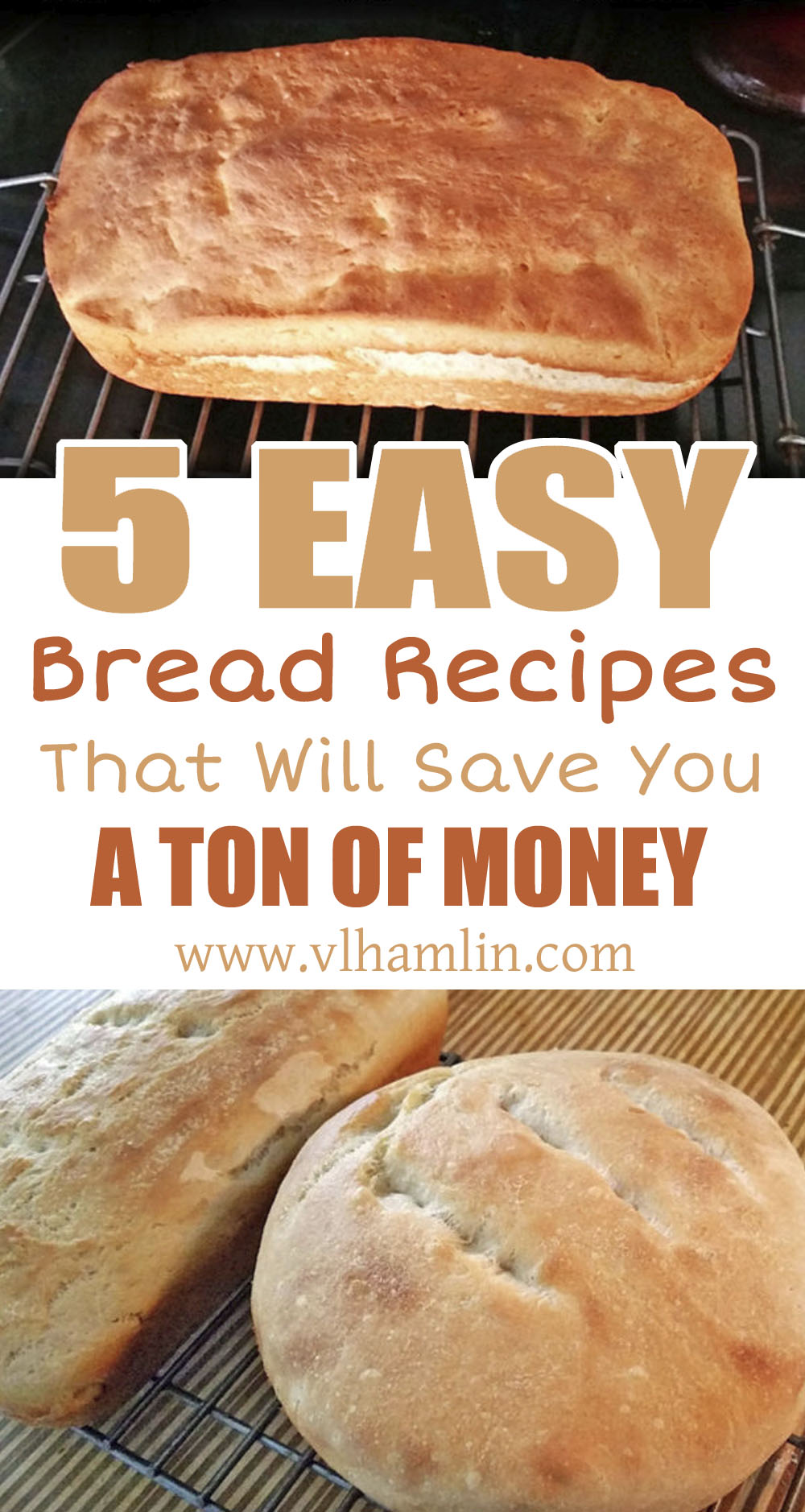 5 Easy Bread Recipes That Will Save You A Ton of Money