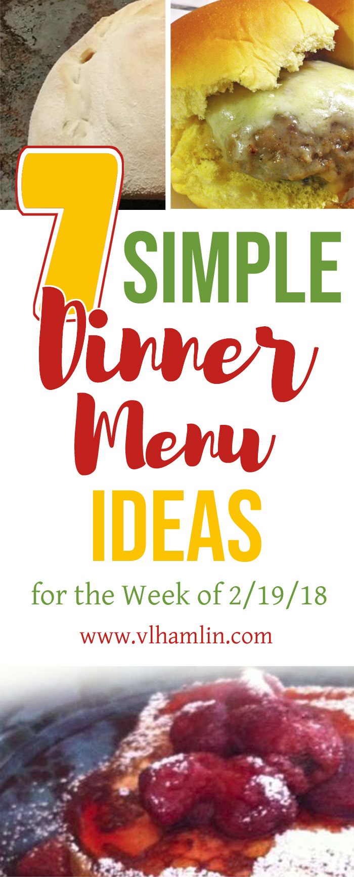 7 Simple Dinner Menu Ideas