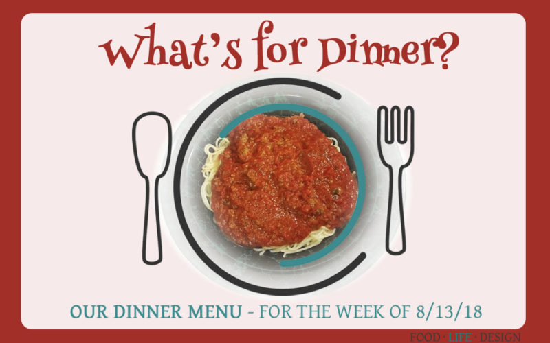 OUR DINNER MENU 8-13-18 - FEATURED