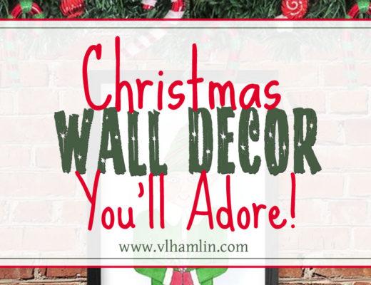 Christmas Wall Decor You'll Adore