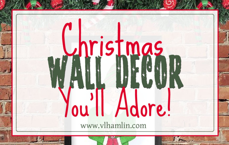 Christmas Wall Decor You'll Adore