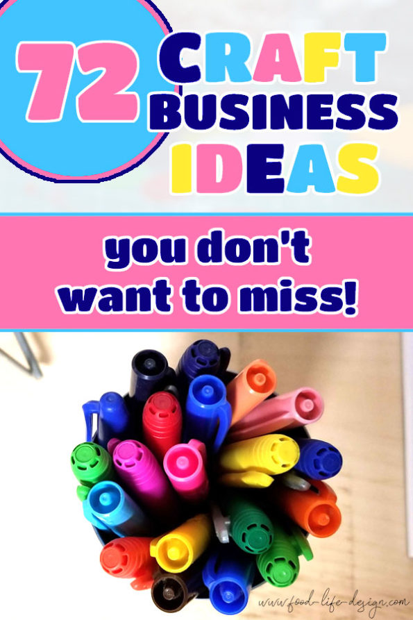 Craft Business Ideas You Don't Want to Miss - Food Life Design