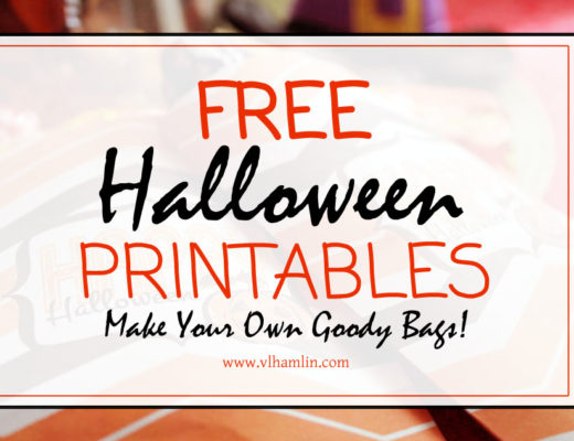 Free Halloween Printables - Make Your Own Goody Bags
