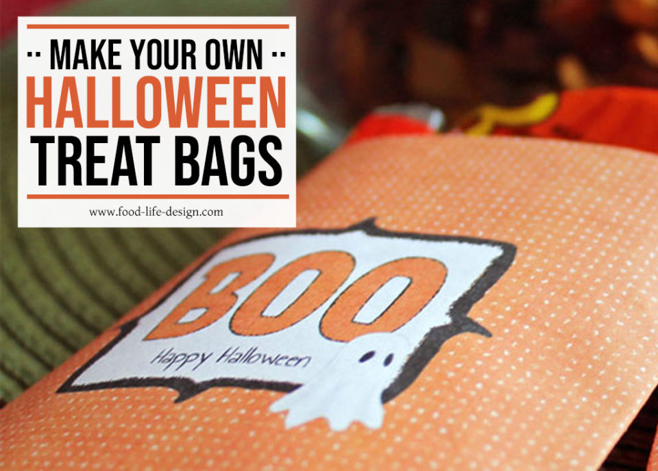 Free Printable Halloween Goody Bags - Food Life Design