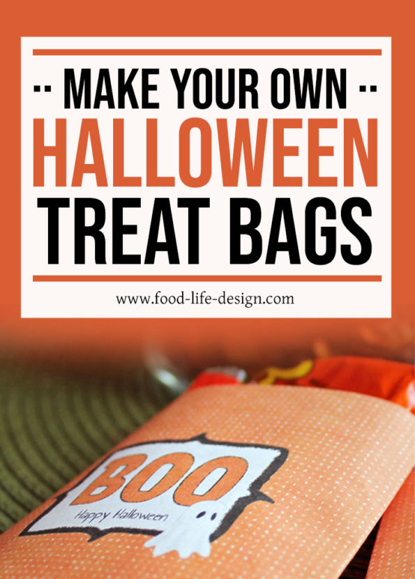 Make Your Own Halloween Treat Bags - Food Life Design