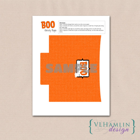 Free Halloween Printables: BOO Goody Bags
