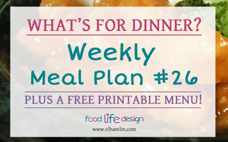 Free Printable Meal Planner 26