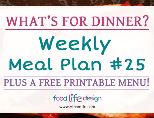Free Printable Weekly Meal Plan #25