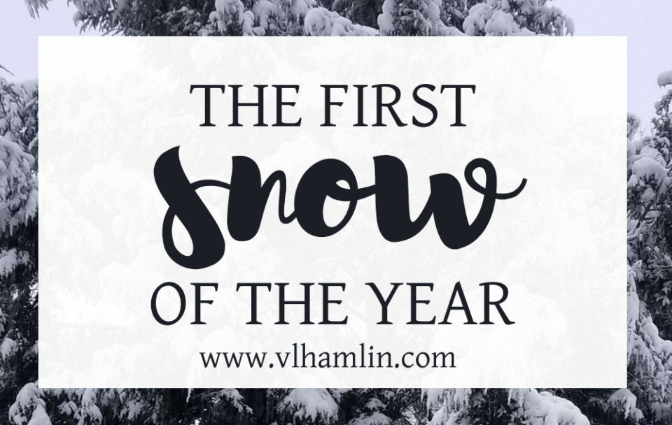 The First Snow of the Year