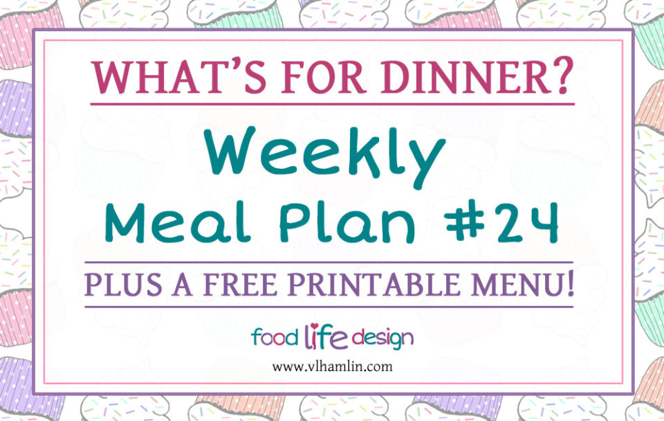 Weekly Meal Plan 24