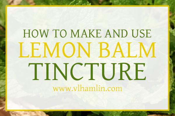 Lemon Balm Tincture