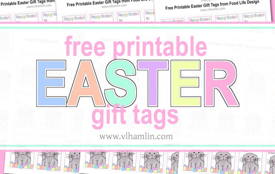 Free Printable Easter Gift Tags