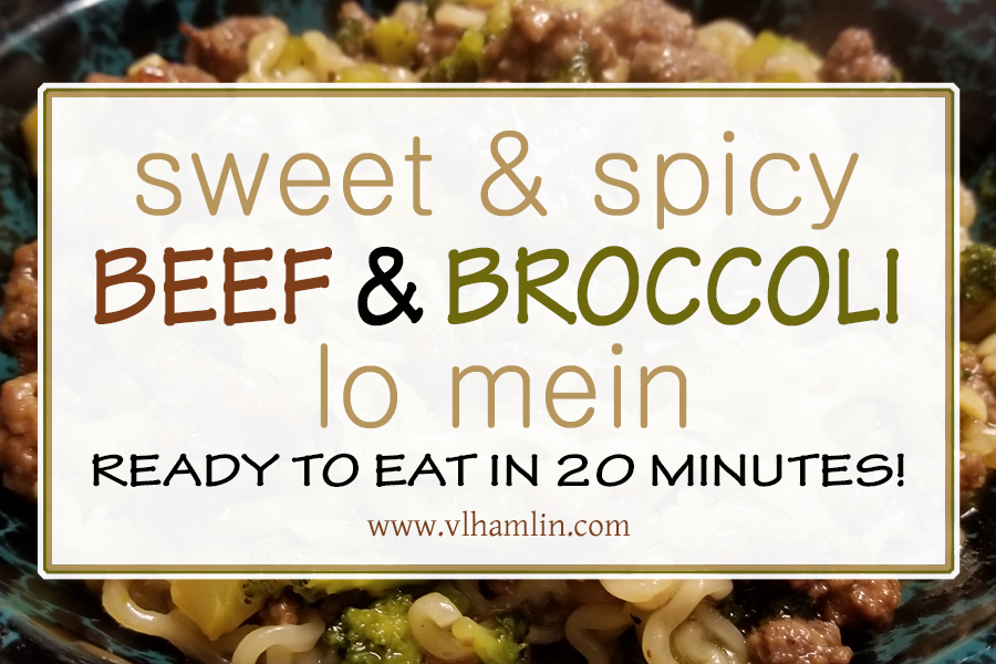 Sweet Spicy Broccoli Lo Mein