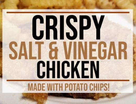 Crispy Salt and Vinegar Chicken Recipe   Food Life Design