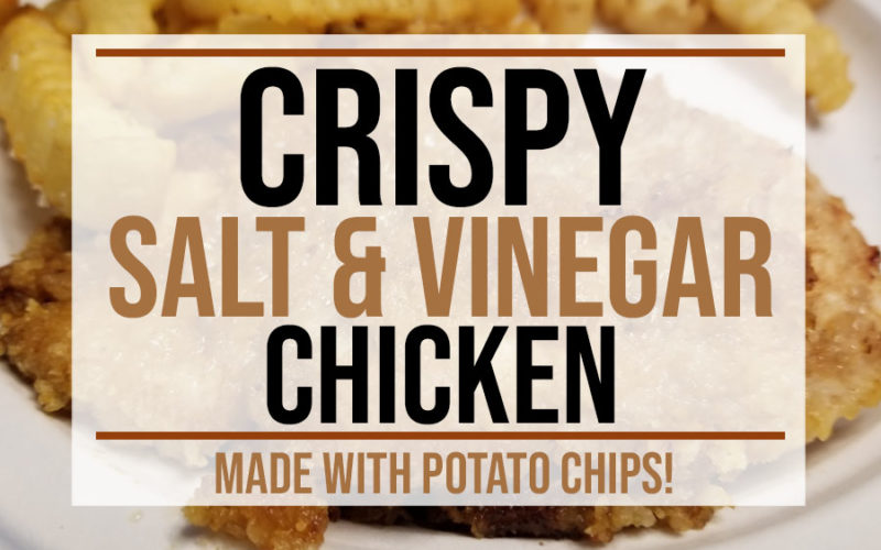 Crispy Salt and Vinegar Chicken Recipe | Food Life Design