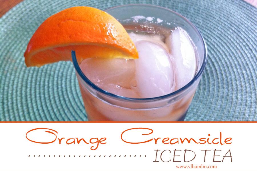 Orange Creamsicle Iced Tea | Food Life Design