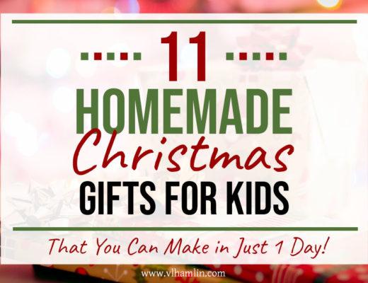 Homemade Christmas Gifts for Kids | Food Life Design
