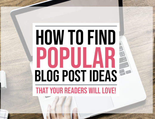 How to Find Popular Blog Post Ideas That Your Readers Will Love! | Food Life Design